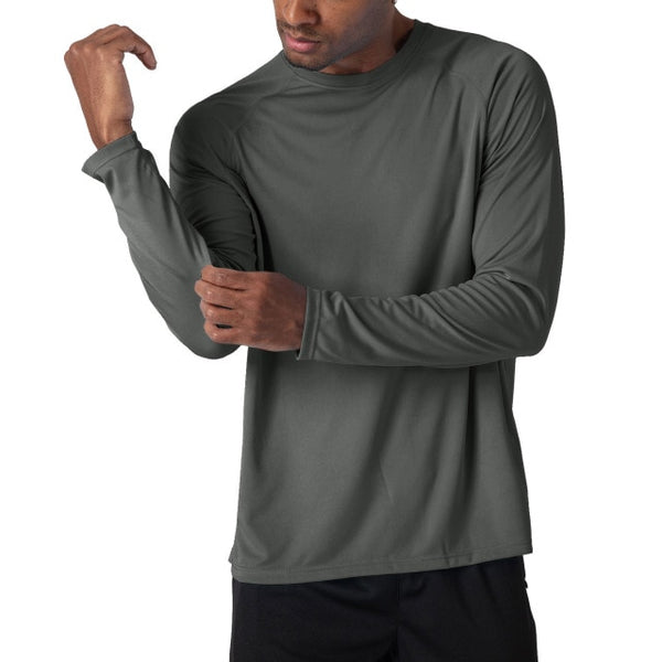 Men's Long Sleeve Performance Quick Dry Breathable T-Shirts