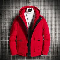 Men's Dual Color Long Sleeve Cotton Casual Jacket