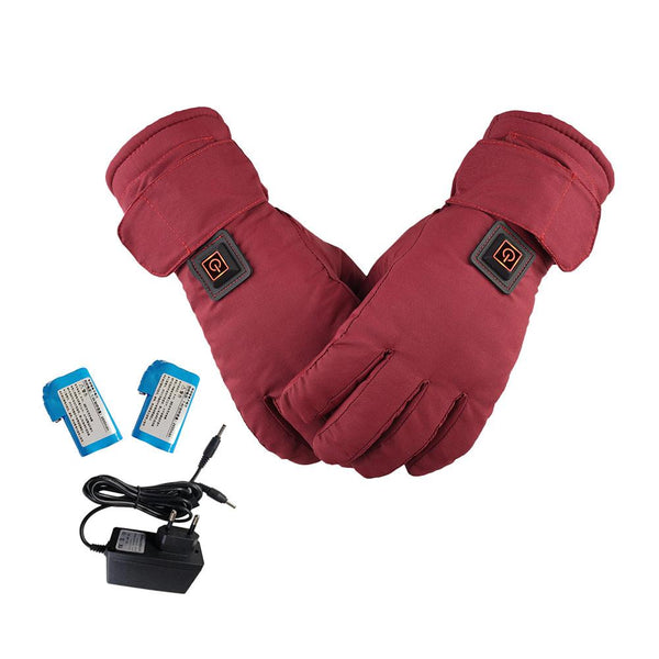 Unisex Lithium Battery Electric Heating Chargeable  Gloves