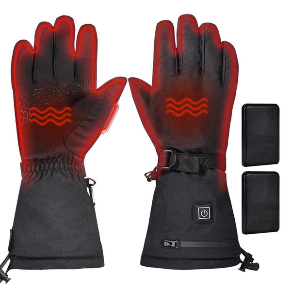 Women's 5V 3000mAh Electric Heated Gloves