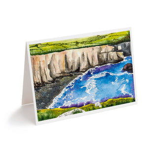 dingle ireland cliffs of moher watercolour art greeting card