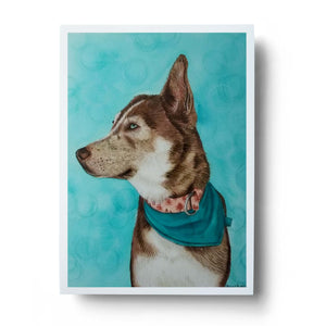 Custom Pet Portrait | Original Painting of Your Furbaby