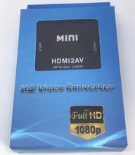 Load image into Gallery viewer, HDMI TO AV Scaler Adapter HD 1080P Video Converter Box (Click for Pricing)