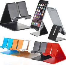 Load image into Gallery viewer, Aluminum Mobile Phone/Tablet Stand (Click for Pricing)