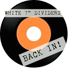 "7"" White Dividers"