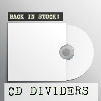 CD Divider Back In Stock