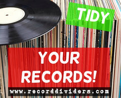 Tidy your vinyl with A to Z record divider kits