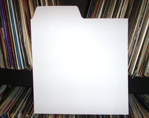 Record Dividers (white colour) by Filotrax UK