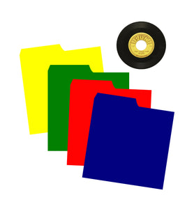 tABBED DIVIDERS FOR INDEXING 45RPM SINGLES