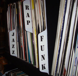 "Record Dividers for 12"" LPs"