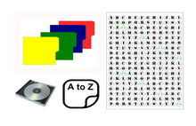 Load image into Gallery viewer, A to Z CD Dividers (Multi Colour Pack)