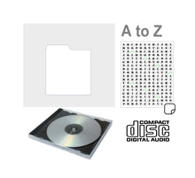Load image into Gallery viewer, CD Divider A-Z (White)