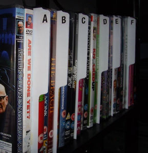 A-Z filotrax DVD dividers