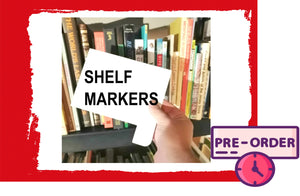 Shelf Markers  (Bulk Order)