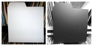 "12"" Record Dividers A-Z Kit (Black & White)"