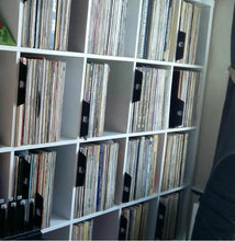 Load image into Gallery viewer, Storing vinyl records the right way with twelve inch dividers