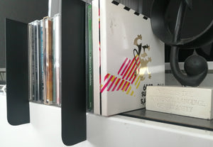 Shelf markers for organising your CD Collection.