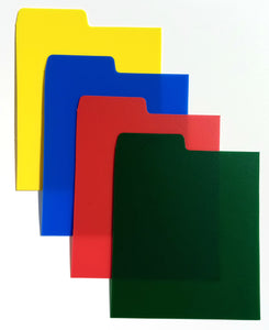 A to Z CD Dividers (Multi Colour Pack)