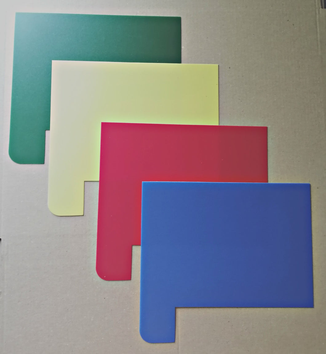 Shelf Markers - Multi Colour Packs