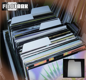 "12"" Record Dividers (White)"