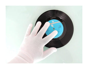 record cleaning gloves