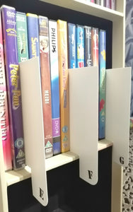 Shelf markers work with DVD and games archiving