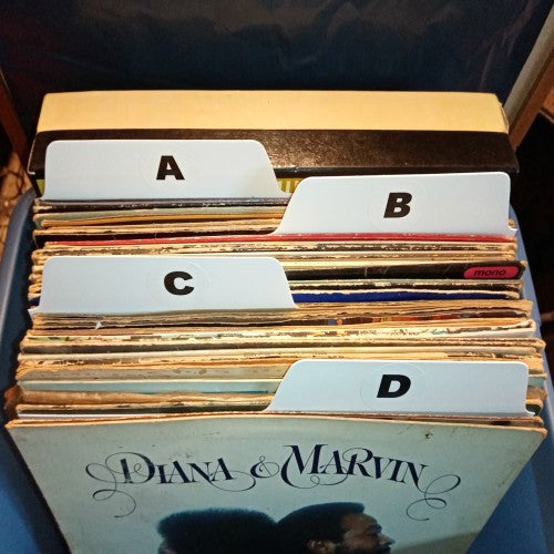 Album alphabet set vinyl