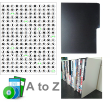 Load image into Gallery viewer, DVD dividers A-Z set