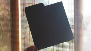 "7"" Record Dividers (Black)"