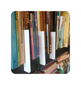 Book Shelf Dividers A to Z Kit White