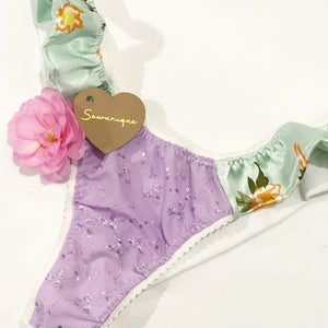 FRILLY SIDES UNDERWEAR (customise your own)