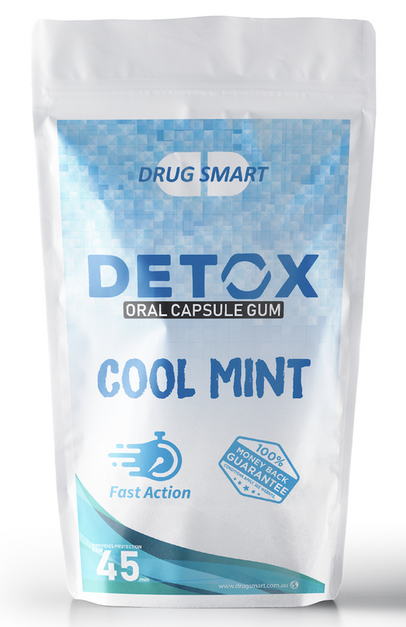 Drug Smart Detox Gum 6pk Cool Mint