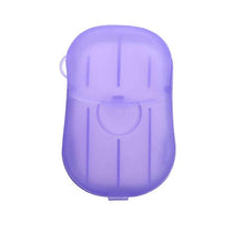 Scented Paper Hand Soap w/Travel Case 20pk
