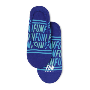 Fun Socks Women's Fun Fun Fun No Show Socks
