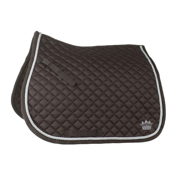 Horze Silver Cord All Purpose Saddle Pad