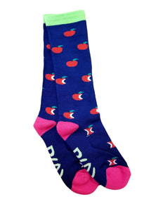 One Stop Equine Shop Exclusive Ladies Apple Socks by Shires