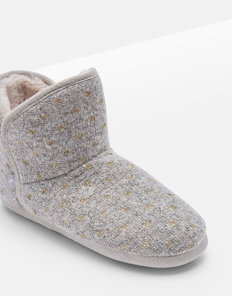 Joules Cabin Bootie Slippers With Hard Sole