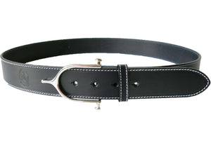 "LILO Collections Inglesa Grande 1.5"" Spur Leather Belt"