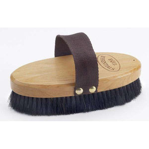 Equi-Essentials Wood Back Body Brush with Horse Hair