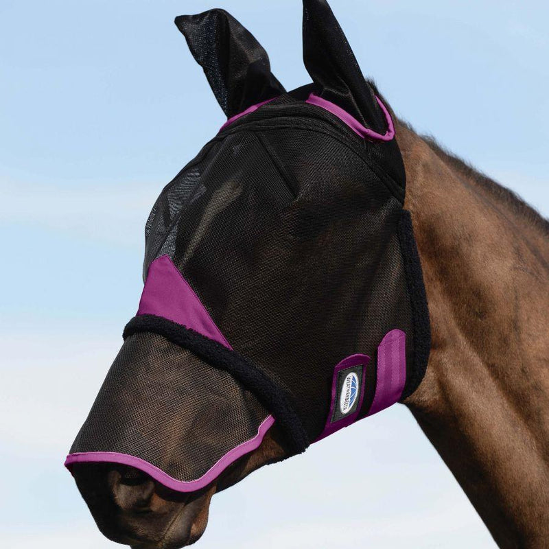 Weatherbeeta Comfitec Durable Mesh Fly Mask With Ears & Nose