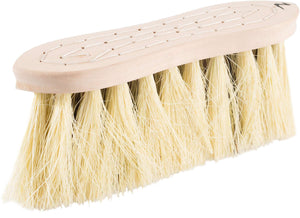 Horze Wood Back Firm Brush With Natural Mix Bristles, 3in