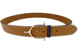 "LILO Collections Inglesa 1.5"" Spur Leather Belt"