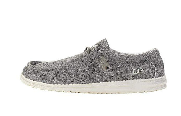 Hey Dude Men's Wally Linen Loafer