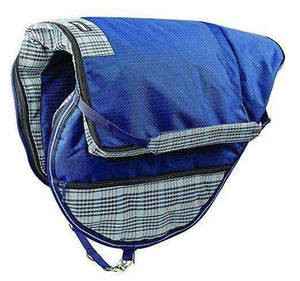Roma Equestrian Dura-Mesh All Purpose English Saddle Carrier Bag