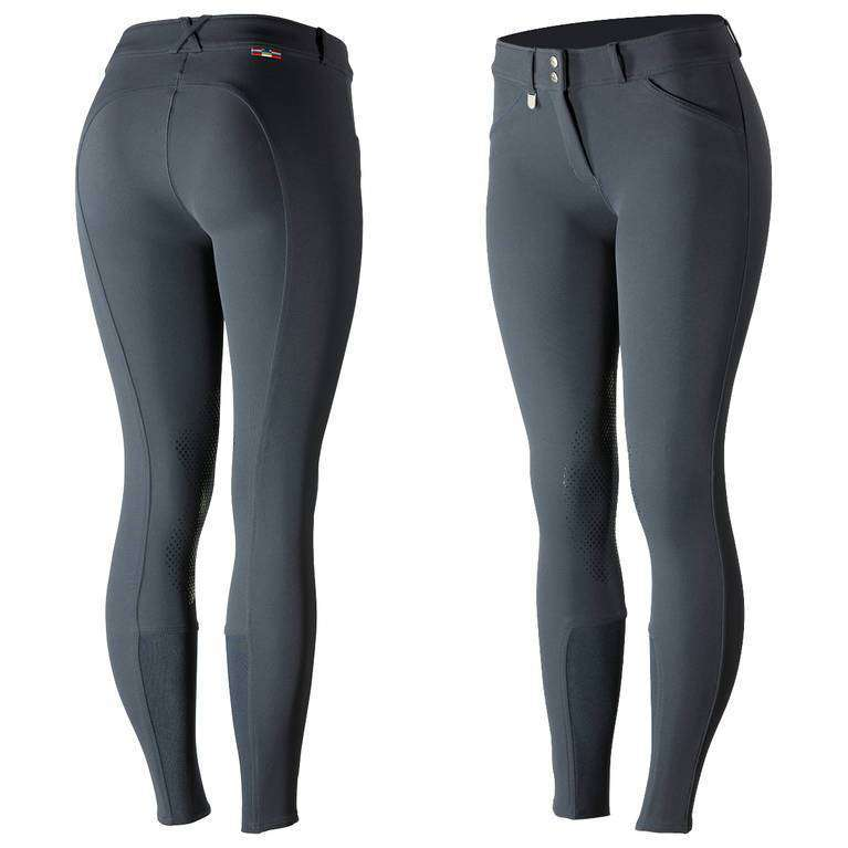 Horze Grand Prix Women's Silicone Knee Patch Breeches
