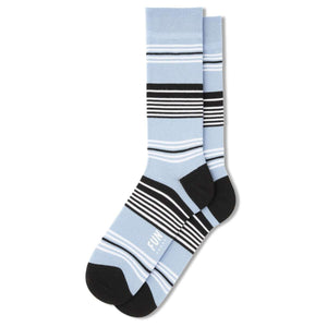 Fun Socks Men's Mono Stripe Dress Socks, Socks, Fun Socks, One Stop Equine Shop - One Stop Equine Shop