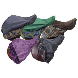 Centaur Close Contact Solid 420D Saddle Cover with Fleece Lining