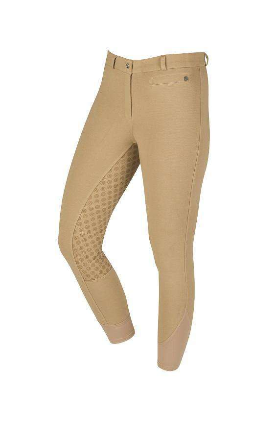 Dublin Supa-Fit Zip Up Gel Full Seat Breeches, Full Seat Breeches, Dublin, One Stop Equine Shop - One Stop Equine Shop
