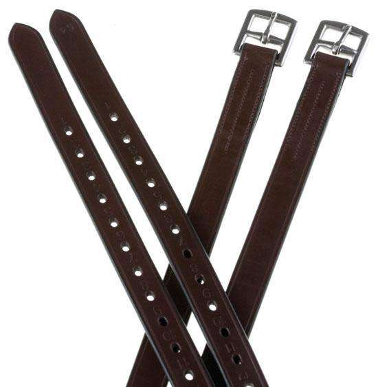 Collegiate 1/2 Hole Stirrup Leathers, English Stirrup Leathers, Collegiate, One Stop Equine Shop - One Stop Equine Shop