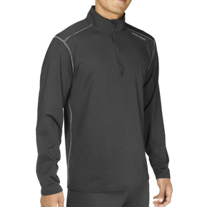 Hot Chillys' Men's Micro-Elite Chamois Solid Zip-T